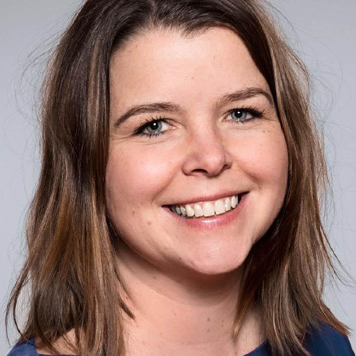 Camilla Blom i Tafjord Marked