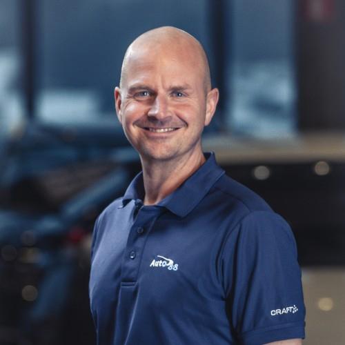 Marius Heidang-Olsen Daglig leder i Auto 8-8 Vestlandske
