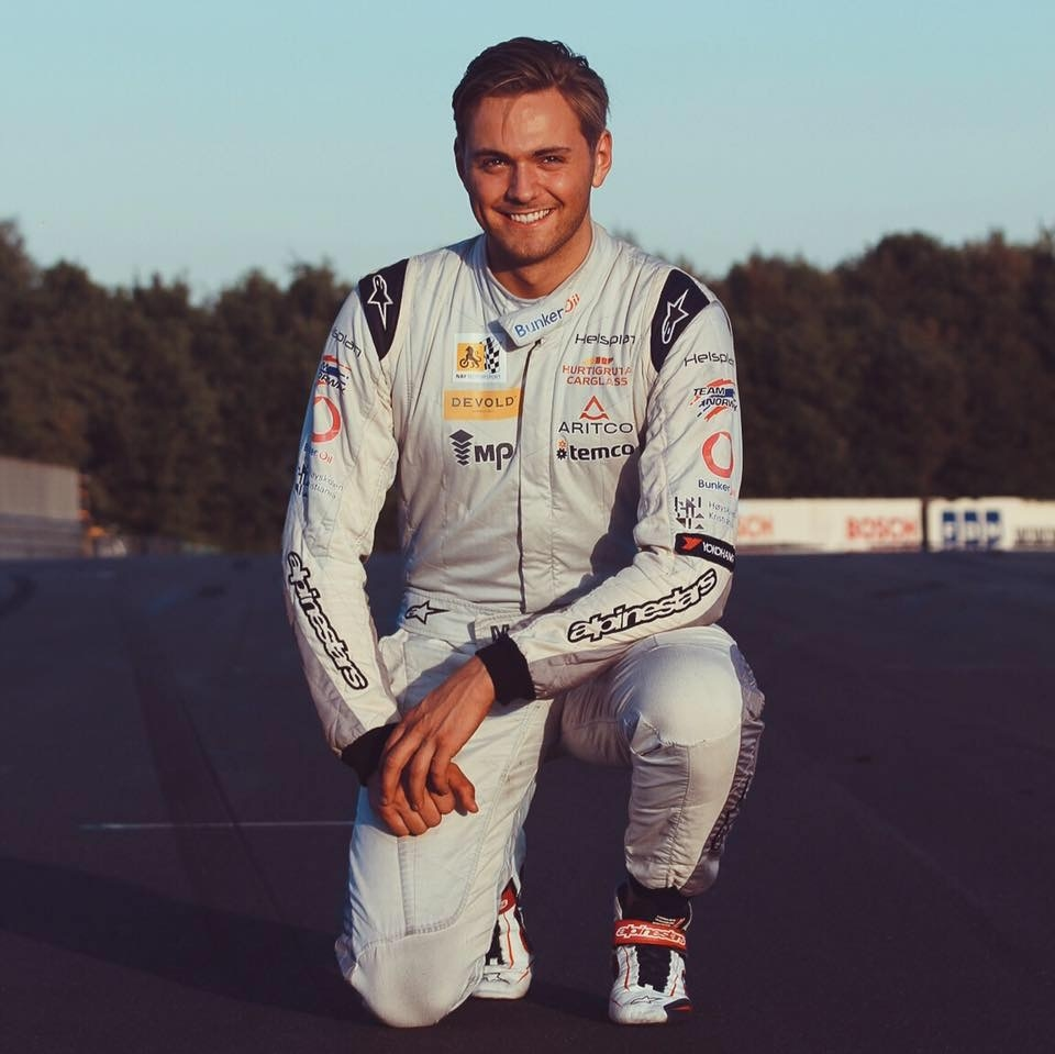 Marius Nakken Porsche Cup VM - driver  i Marius Nakken Racing