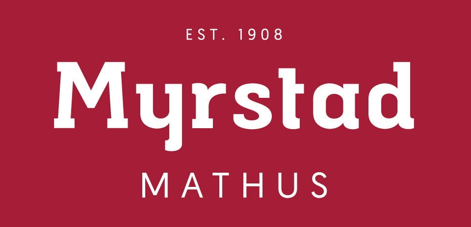 Myrstad Mathus logo