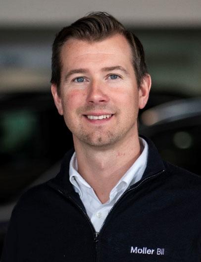 Ole Andreas Kvalsvik Firmabilselger VW/Audi i Møller Bil Ålesund