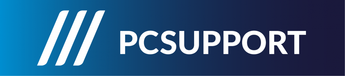 PC Support AS logo