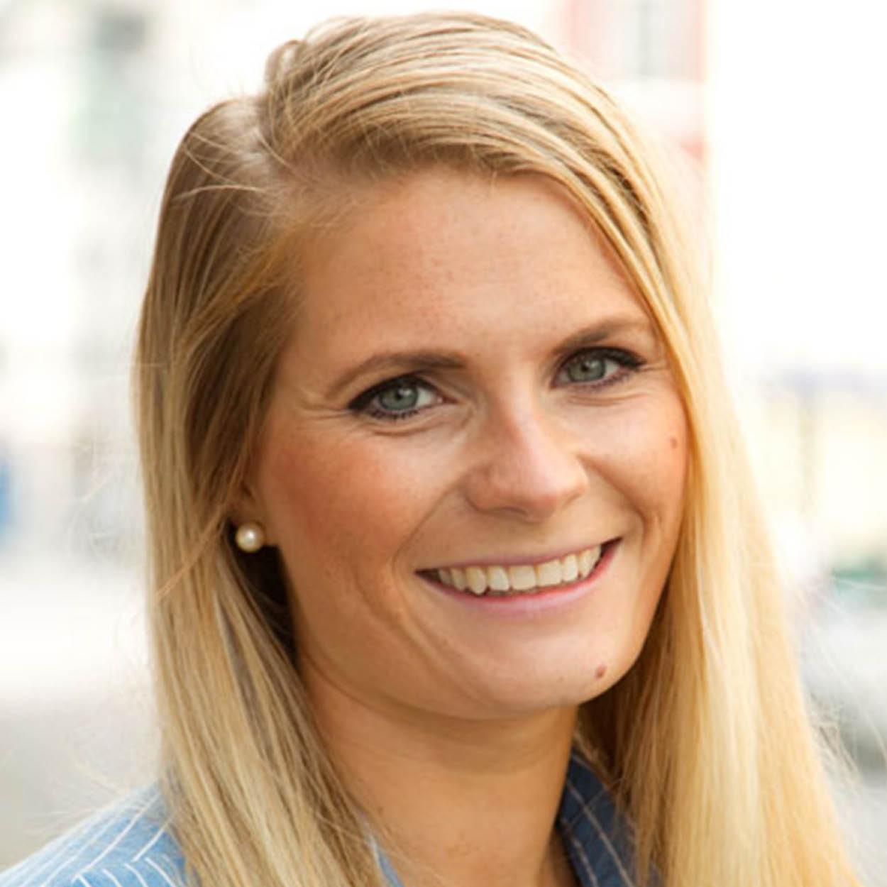 Jeanette Lorgen i Sparebanken Møre Arena