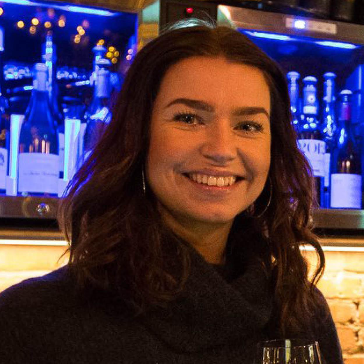 Jeanette Solheim i Vino Piemonte