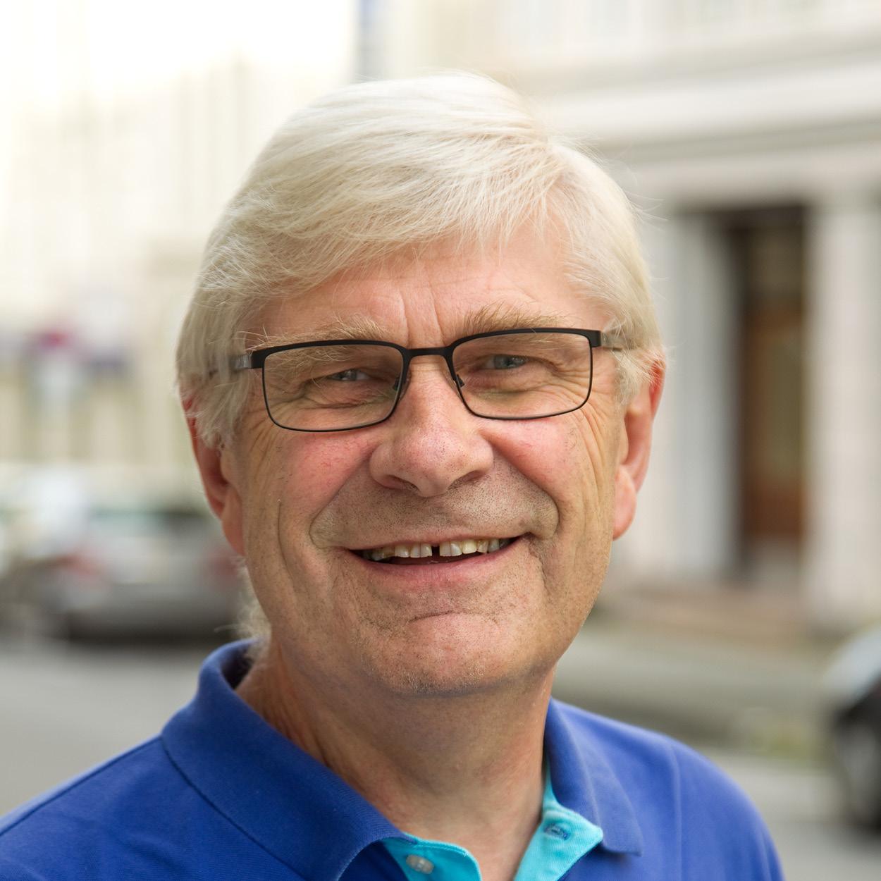 Karl Johan Roald i Sparebanken Møre Arena