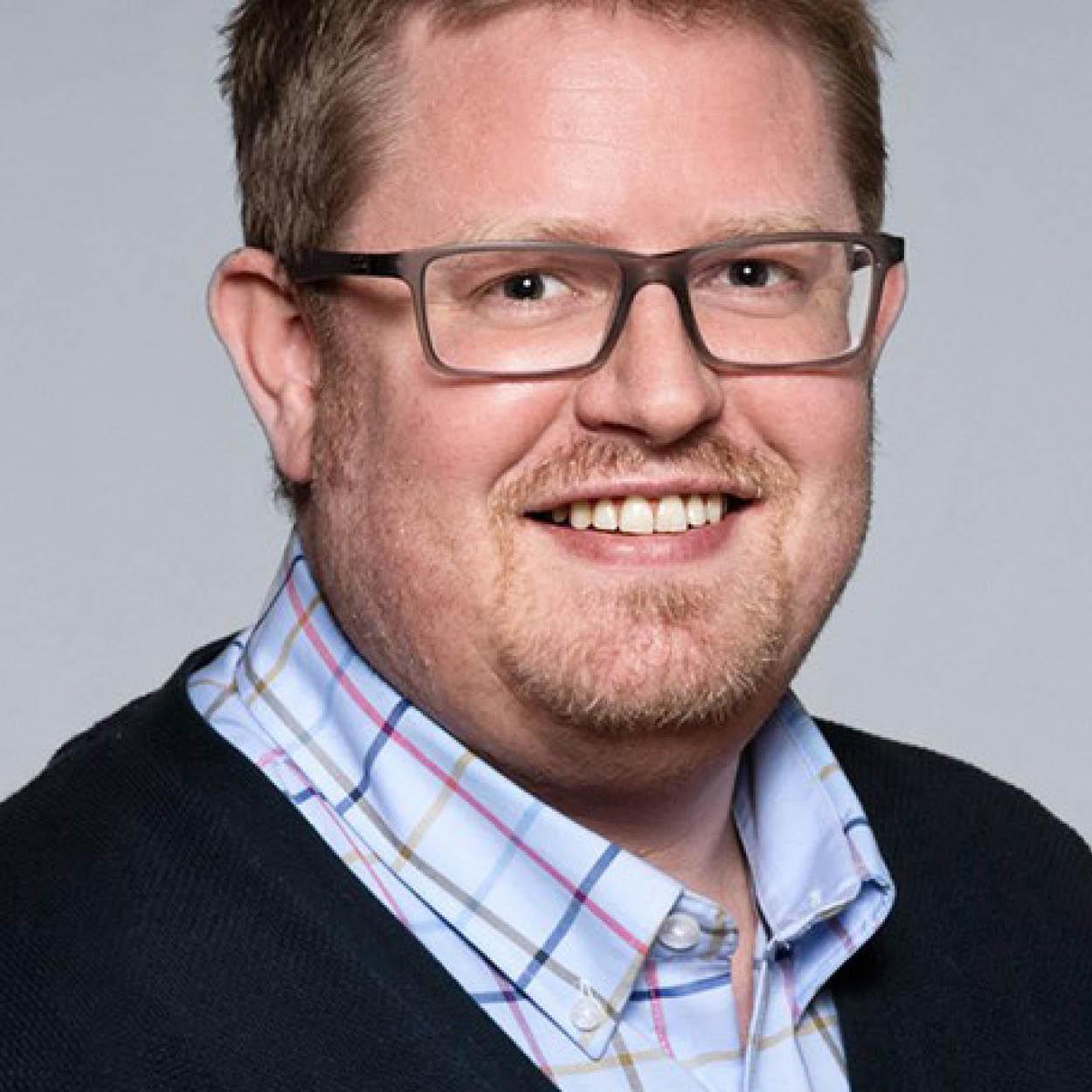 Marius Løseth Hauge i Tafjord Marked