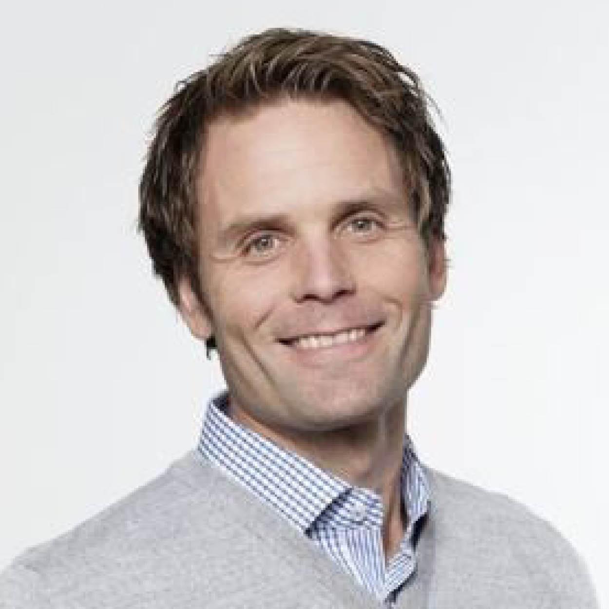Nils Christian Kaaresen i Brages Bilforretning