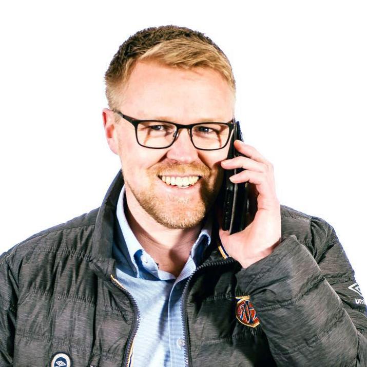 Rudi André Svendsen i ISS Serveringspartner