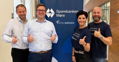 Sparebanken Møre + MøreBørsen = SANT!